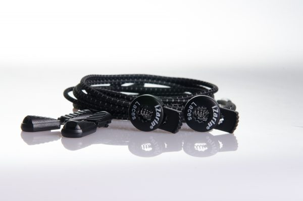 No-tie shoe laces with lock and clips