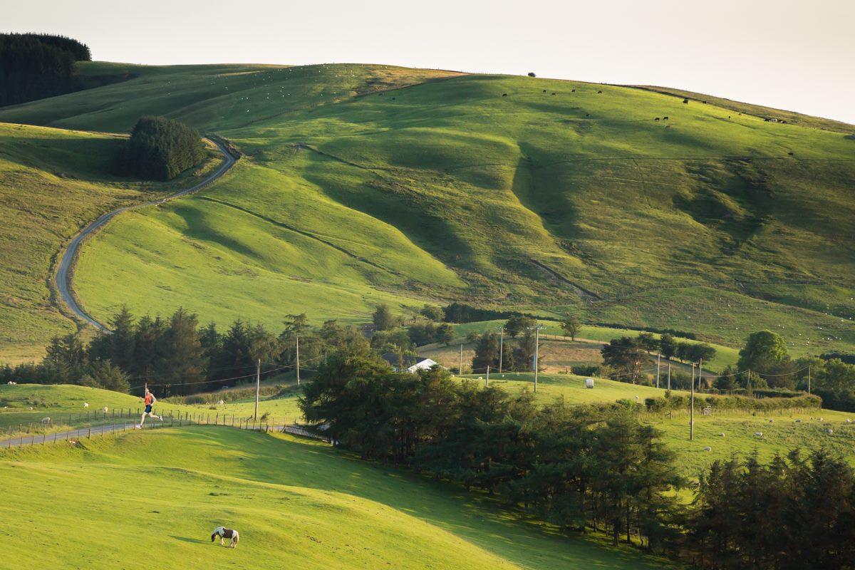 Long Distance Walks in Glyndŵr's Way in Wales