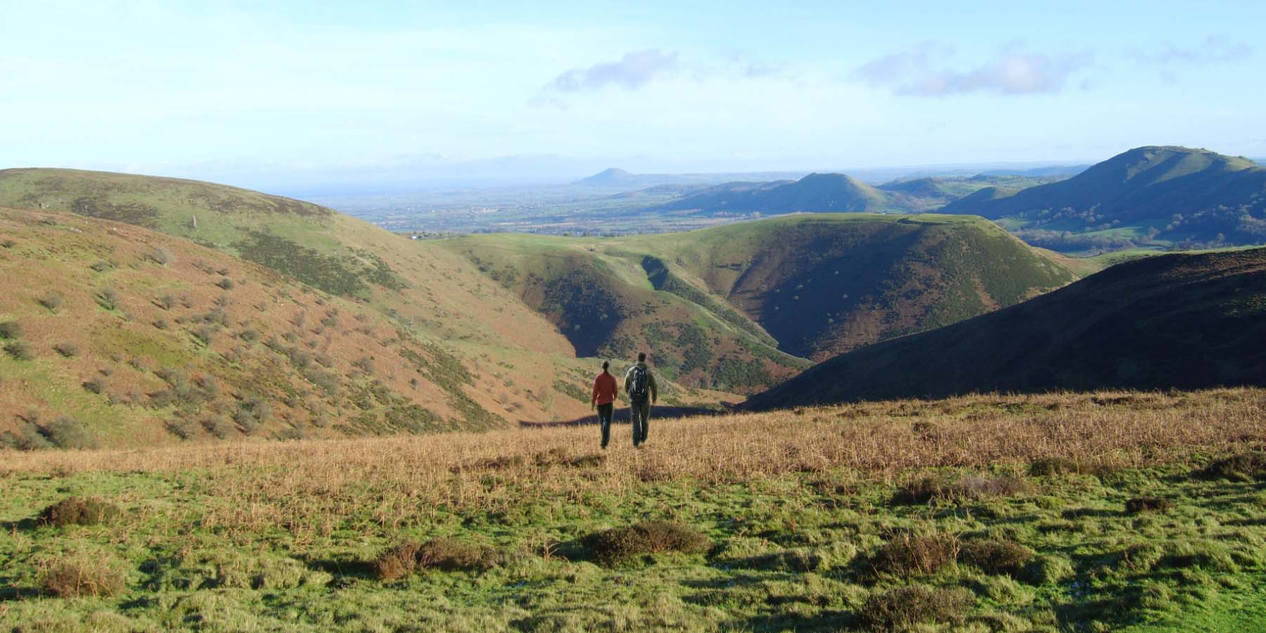 Long Distance Walks in Kerry Ridgeway, Welsh Borders in Wales