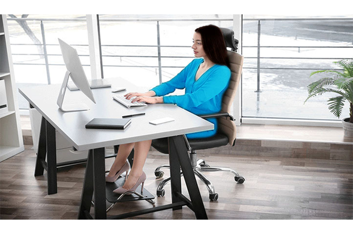 Good sitting down posture gives you better bone health