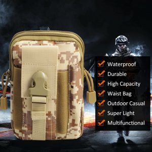 Tactical Waist Belt Bag Main Benefits