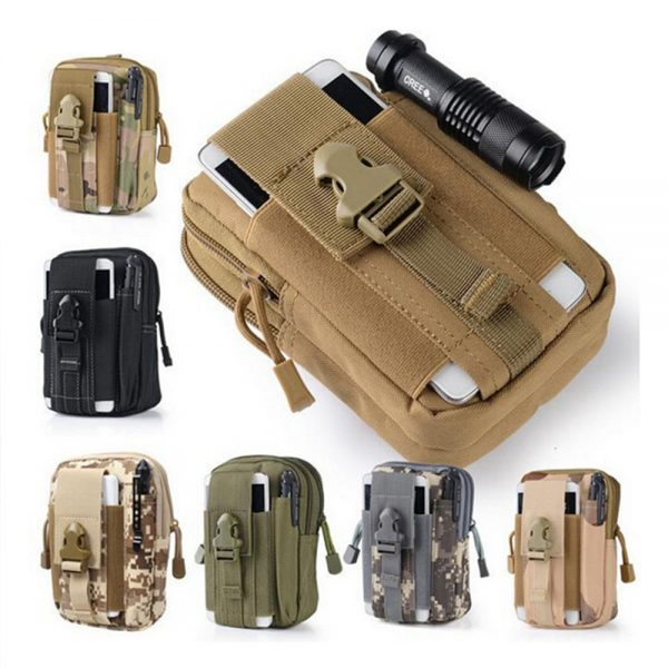 Tactical Waist Belt Bags - Various Designs