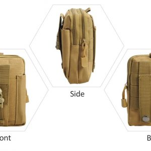 Tactical Waist Belt Bag Tan