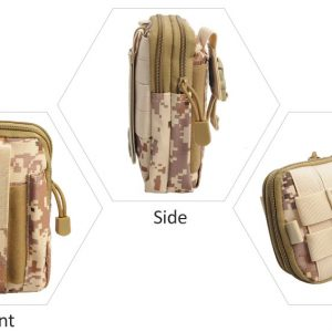 Tactical Waist Belt Bag Desert Camo
