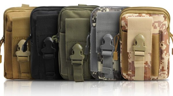 Tactical Waist Belt Bags - Various Styles