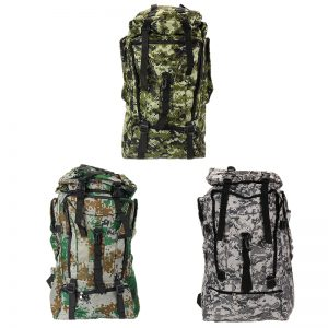 Camo backpack available in 3 styles