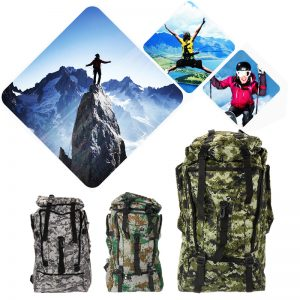 Camo backpack suitable for hiking